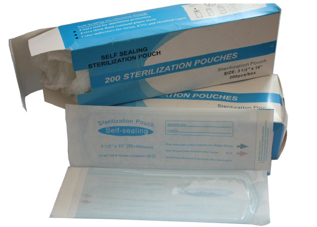 Self-Seal Sterilization Pouches