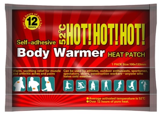 Adhesive Body Warmer Plaster