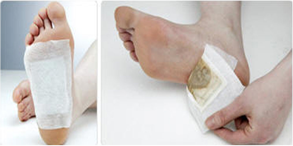 How to use Detox Foot Patch